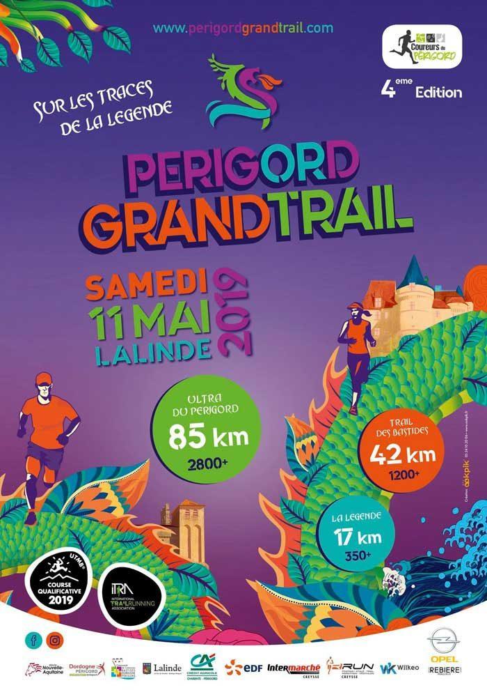 Affiche Périgord Grand Trail 2019